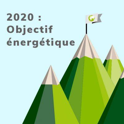2020 : objectif énergétique