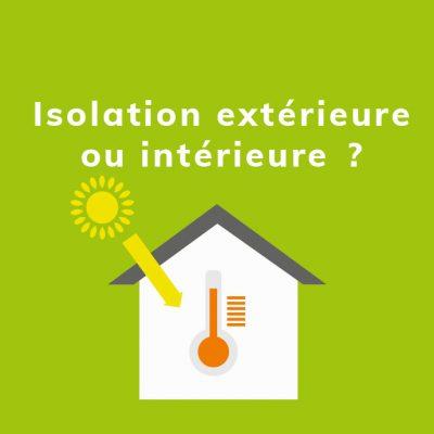Isolation extérieure ou intérieure : quel est l'impact sur le confort thermique ?