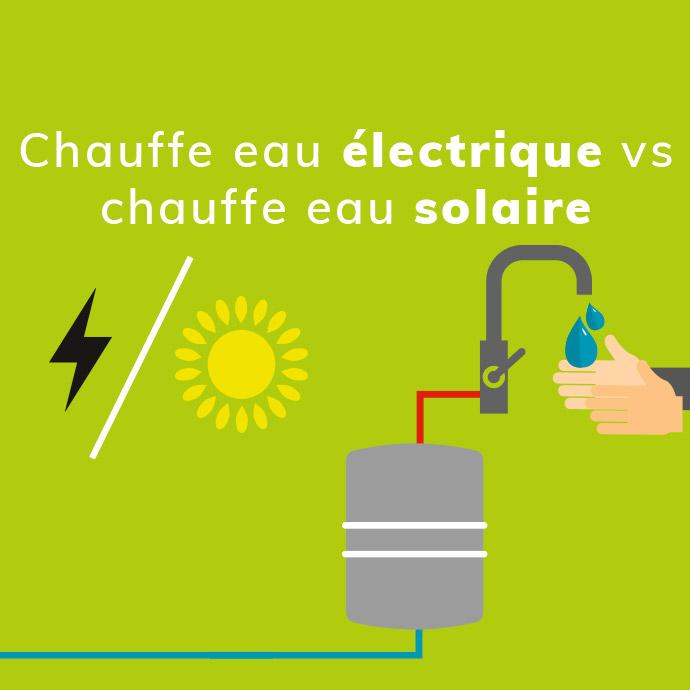 chauffe eau électrique ou chauffe eau solaire