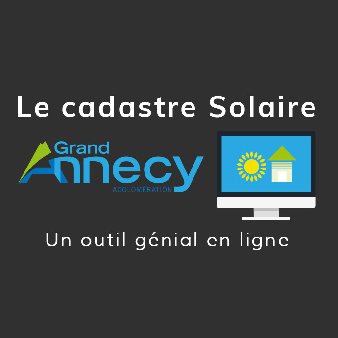 cadastre solaire du Grand Annecy